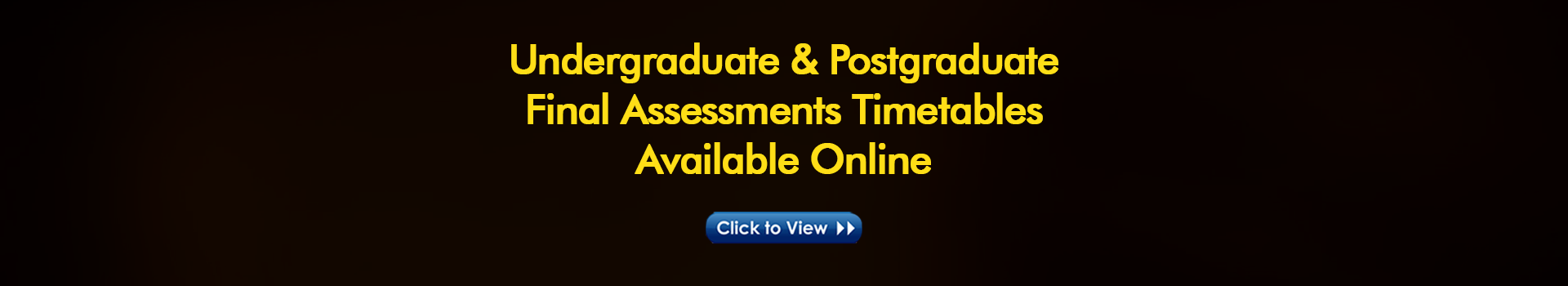 Final Assessments Timetables for Semester II (2019-2020)