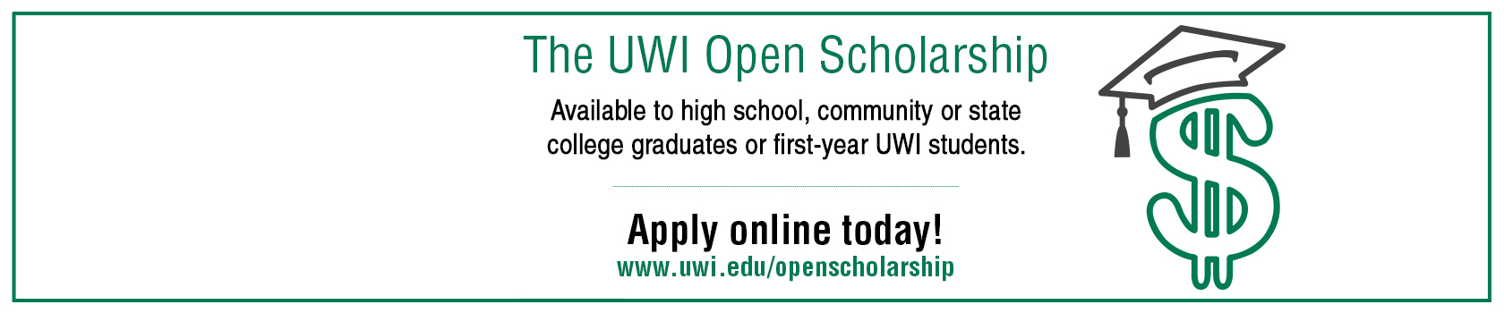 The UWI Open Scholarship