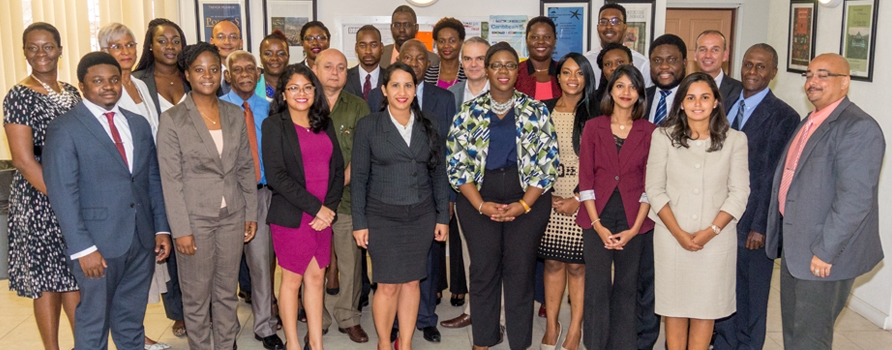 Officials and Regional Trade Policy Course Participants