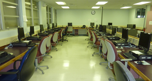 Computer Facilities Photo